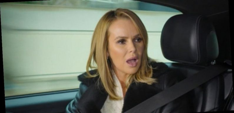 Amanda Holden left gobsmacked after Alan Carr says he was 'outed by ghost'
