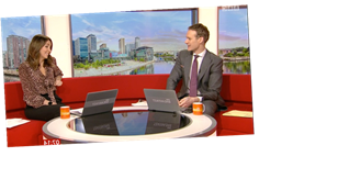 BBC Breakfast's Dan Walker failed driving test after reversing around roundabout