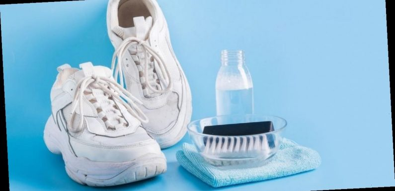 How to quickly restore your trainers to look brand new by using everyday household products under £5