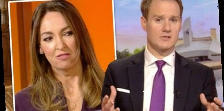 Dan Walker shuts down conversation with BBC Breakfast co-star Sally Nugent: 'No comment'