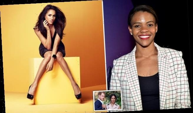 CANDACE OWENS says she predicted Harry and Meghan would end up in LA