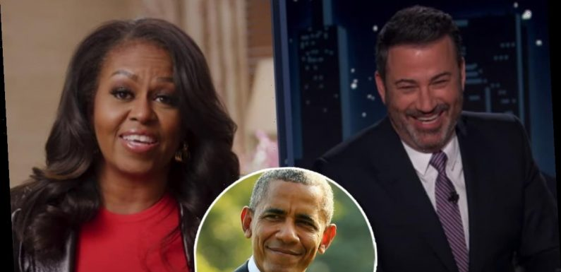 How Michelle Obama Shut Down Jimmy Kimmel's 'Sick' Sex Question About Barack