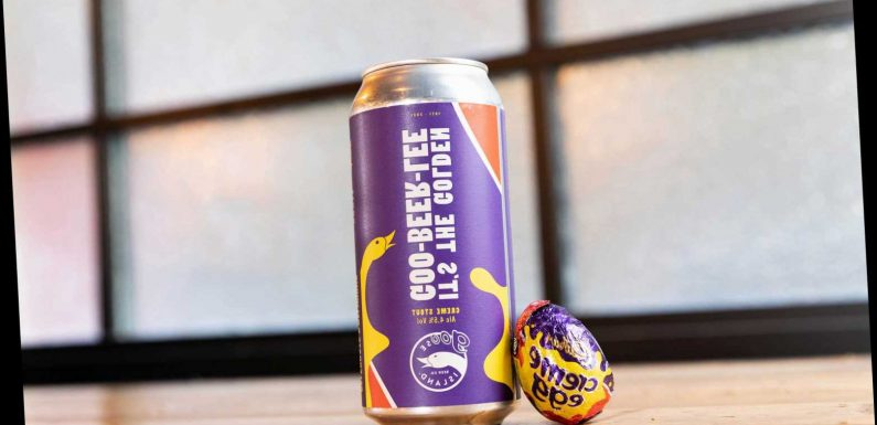 Cadbury is bringing out a creme egg flavoured BEER