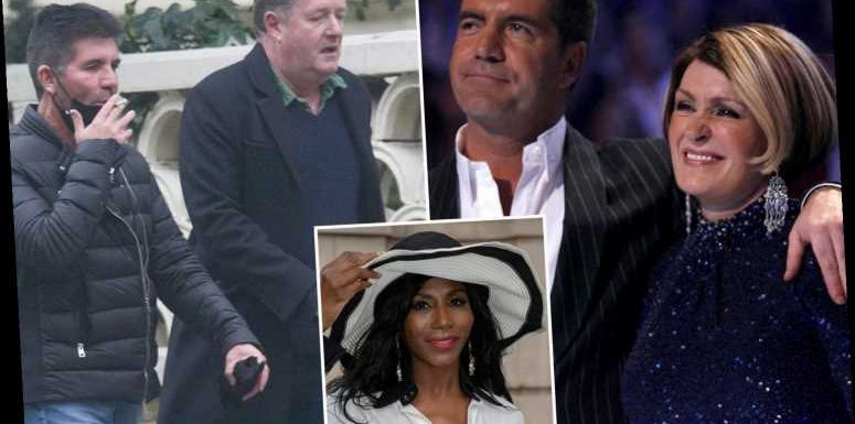 Simon Cowell in 'tricky position' after Piers Morgan and Sharon Osbourne's explosive TV exits over Meghan Markle