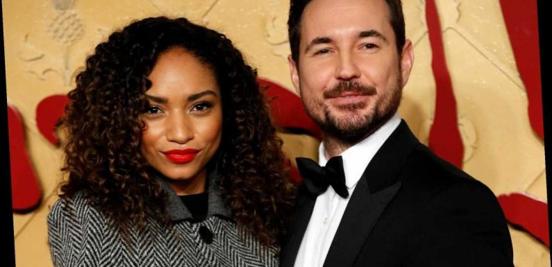 Who is Martin Compston's wife Tianna Chanel Flynn?