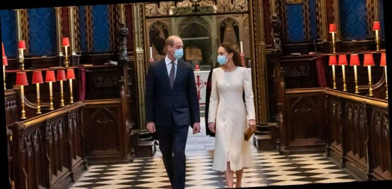 Kate Middleton and Prince William Return to Wedding Venue as It's Turned into Vaccination Site