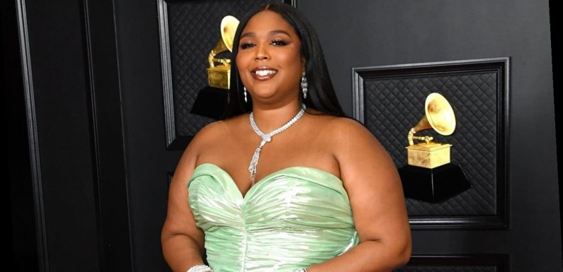 Grammy presenter Lizzo accidentally curses during show: 'I'm so sorry!'