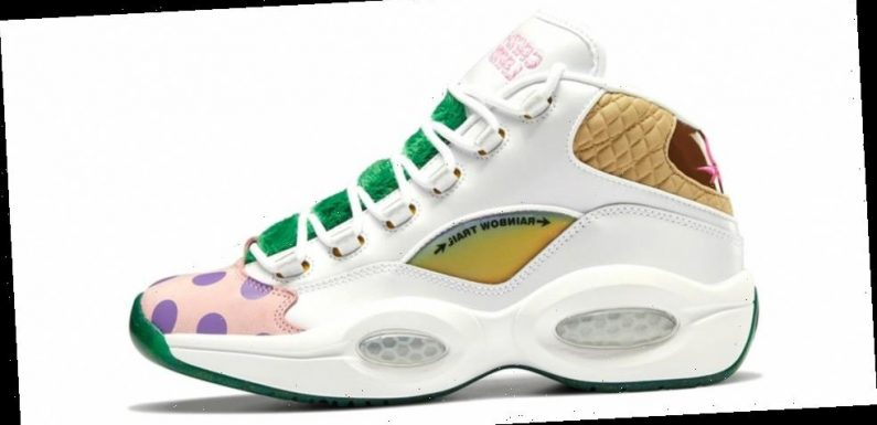 'Candy Land' Teams with Reebok for a Sweet Question Mid