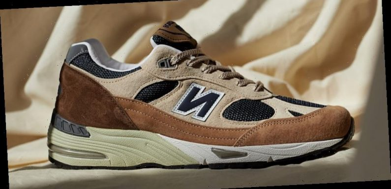 New Balance 991 Takes On Freshly-Brewed Cappuccino Tones