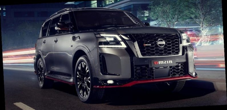 The Nissan Patrol NISMO Is a V8 Monster Heading for the UAE