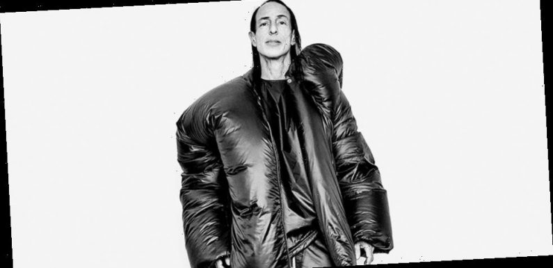 Rick Owens Is Ready to Embrace the World