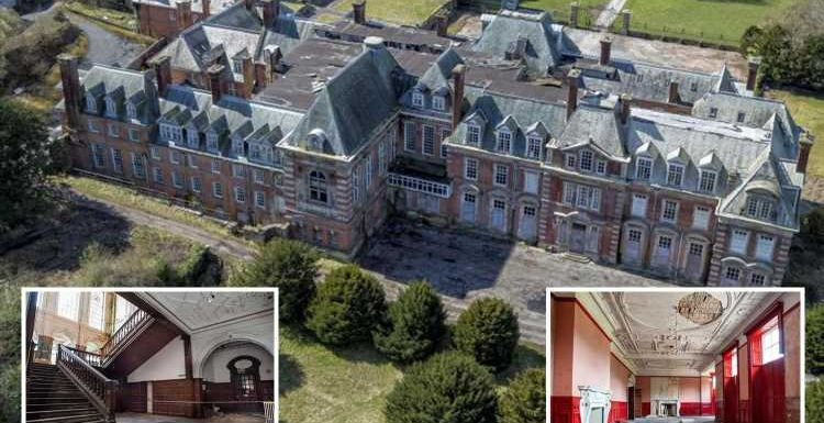 Abandoned mansion dubbed 'Welsh Versailles' with 122 rooms and Venetian gardens on sale for price of London flat