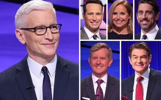 Anderson Cooper's Jeopardy! Stint Set to End — How Does He Stack Up Against His Guest Host Rivals? Vote!