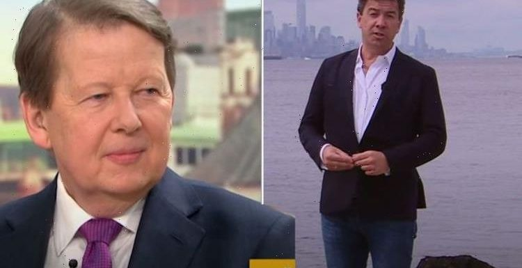 Bill Turnbull reacts to 'big loss' after former BBC colleague shares farewell post