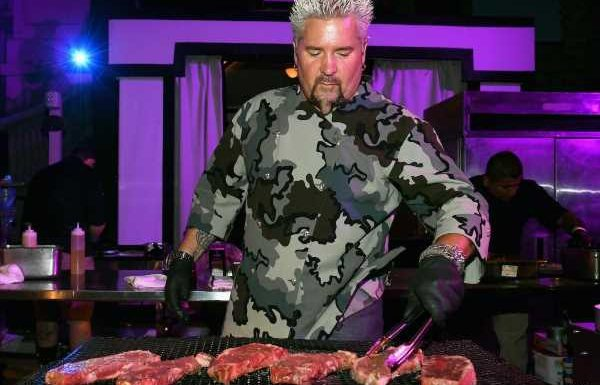 Food Network Host Guy Fieri Shares 4 Tips for Novice Home Chefs