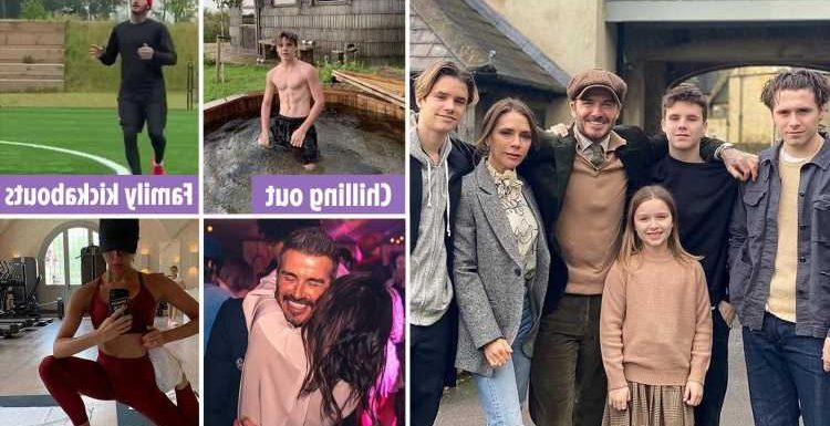 Inside the Beckhams' luxurious Cotswolds life of posh parties, city jaunts, a sprawling £6m mansion… and beekeeping