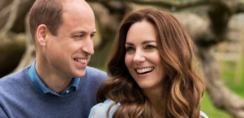 Kate Middleton sports £9,000 necklace in her and Prince William's 10th wedding anniversary snaps