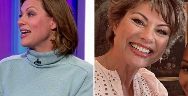 Kate Silverton looks slimmer than ever after two stone weight loss as she appears on The One Show