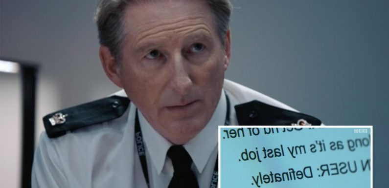 Line of Duty fans spot ANOTHER clue Hastings is corrupt as Kate and Ryan shoot each other in explosive cliffhanger