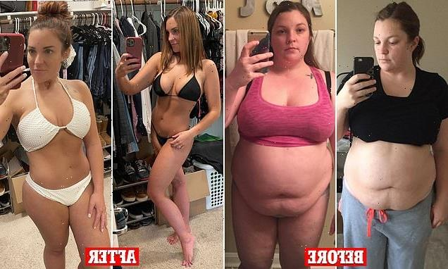 Mother-of-one loses 100lbs – and is trolled for being 'too skinny'