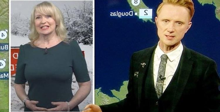 Owain Wyn Evans 'had no clue' about BBC audition before Carol Kirkwood 'sacked' claim