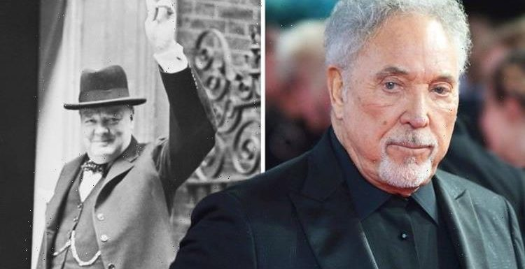Tom Jones admits he 'booed' Winston Churchill as a child: 'My father never forgave him'