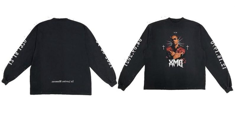 YEEZY and Balenciaga Collaborate on DMX Tribute Tee
