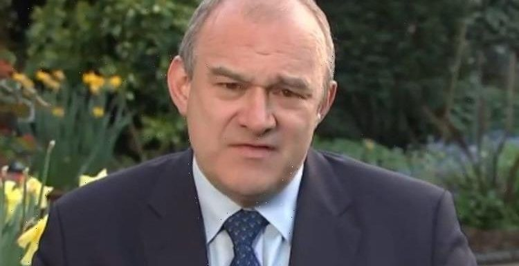'You have an influence!' Lib Dem Ed Davey in tense row with Adil Ray over lobbying record