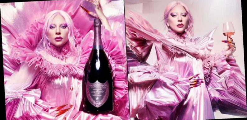 Lady Gaga Signs 2 Year Deal With Dom Pérignon, 'The Queendom'