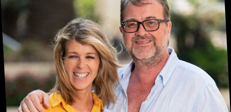 Kate Garraway marks second Easter without husband Derek but says she's thankful 'he is still here'