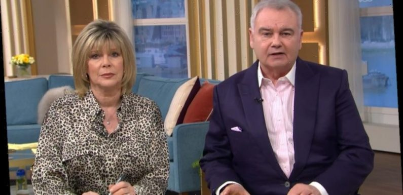 Eamonn Holmes reveals he's been in agony for a MONTH after injuring his back as he returns to host This Morning