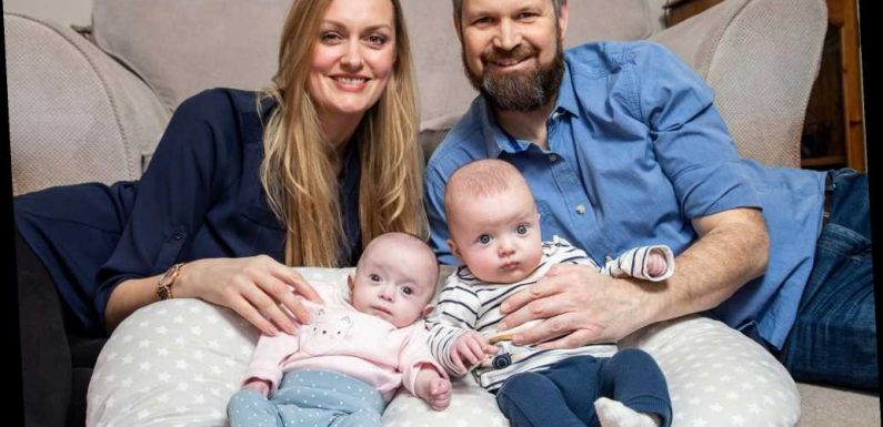 UK woman gives birth to 'super twins' conceived three weeks apart