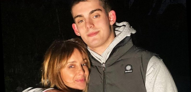 Louise Redknapp's Son Recovering From Hernia Surgery