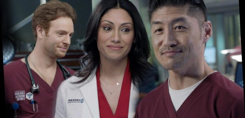 'Chicago Med' Clip: Ethan Is Bothered by Will and Sabeena's Flirting