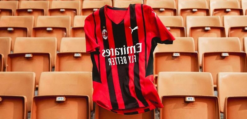 AC Milan and PUMA Draw on the City's Energy and Style for New Home Kit