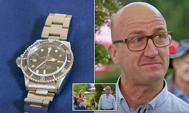Antiques Roadshow tears up as he's told late father's Rolex worth £20K