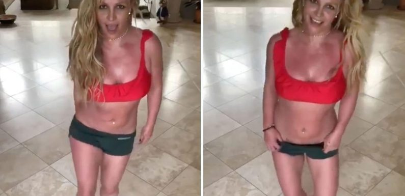 Britney Spears calls documentaries 'hypocritical' & admits to 'tough times in my life' as she dances in 'confusing' post