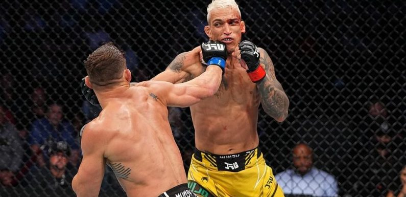 Charles Oliveira Defeats Michael Chandler to Claim New UFC Lightweight Title