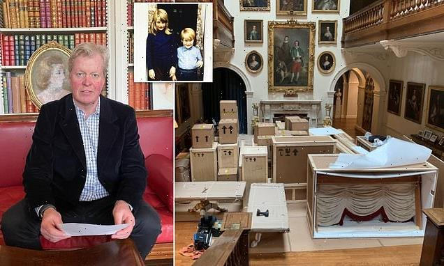 Charles Spencer reveals he is making changed to Althorp House