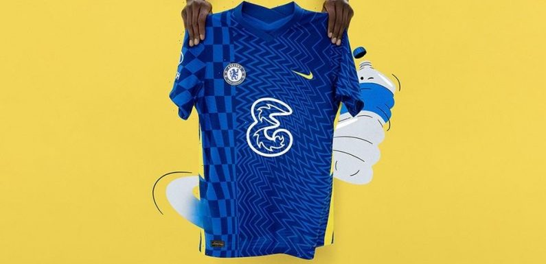 Chelsea Adds an Optical Illusion to 2021/22 Home Jersey
