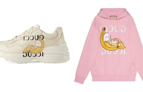 Crunchyroll and Gucci Collide for Unexpected 'Bananya' Collection