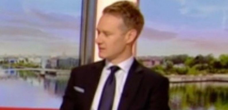 Dan Walker snaps 'let it go' at BBC co-star Sally Nugent after jibe about body
