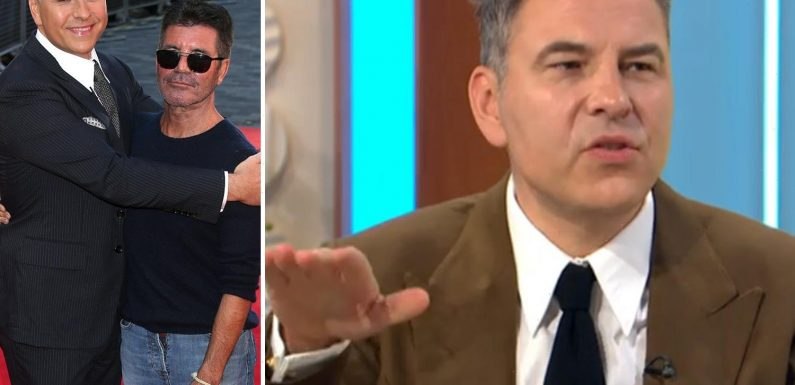 David Walliams risks Simon Cowell's wrath as he mocks 'short' star by revealing his TRUE height 'without heeled boots'
