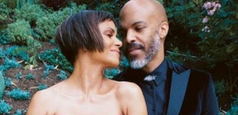 Halle Berry blasts troll over nasty comment on photo of her snogging boyfriend