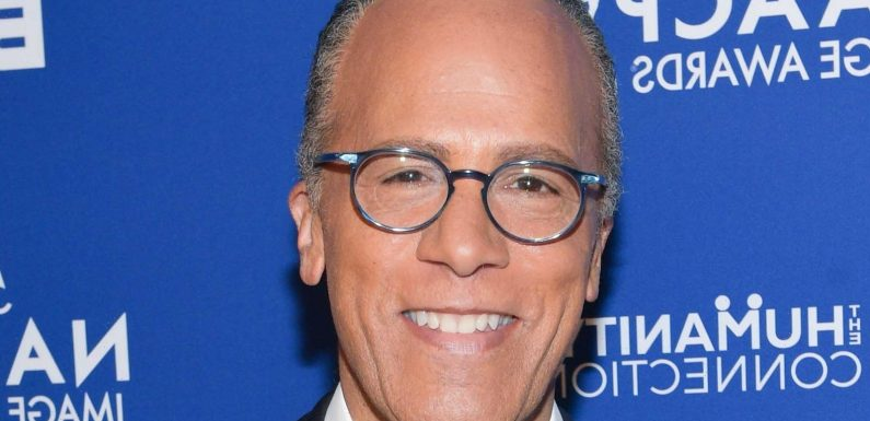 Here's How Much Lester Holt Is Worth