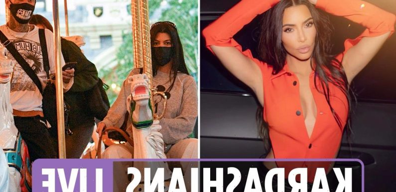 Kardashians latest- Kim boasts she's the 'main character' after claims of fling with Kourtney's man Travis Barker
