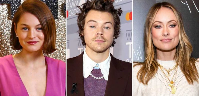 Olivia Wilde Is 'Not Bothered' by Harry Styles' PDA Scenes With Emma Corrin