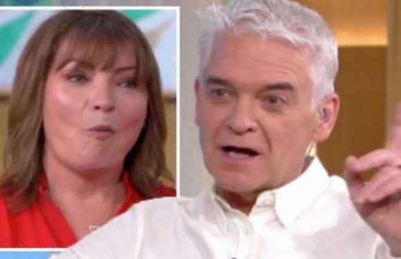 Phillip Schofield in outburst at BBC boss for rudely rejecting co-star: 'He knew nothing!'