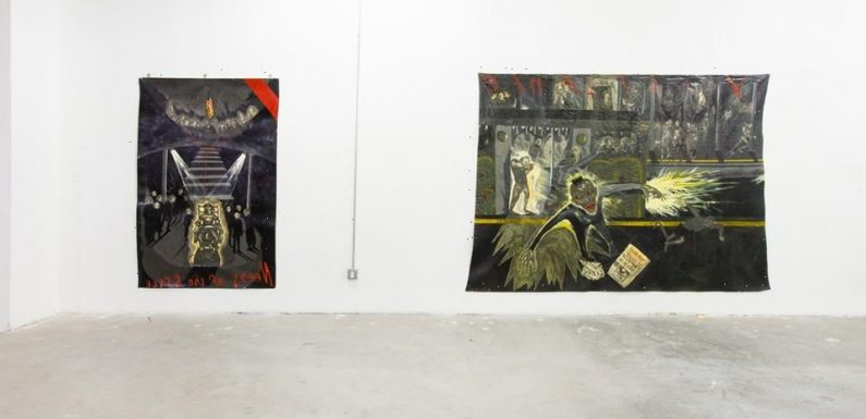 Sue Coe Unveils Intensely Political Paintings at James Fuentes Essex