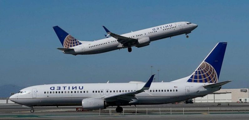 United Airlines to give away a year's worth of first or business class travel in a bid to increase vaccination rates